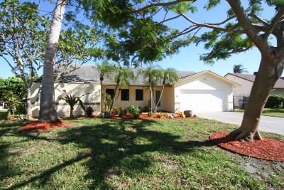 Delray Beach Single Family Home For Sale: 2801 Cormorant Road
