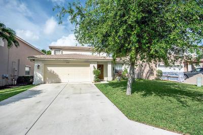 Lake Worth Single Family Home Contingent: 6643 Rainwood Cove Lane