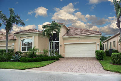 Delray Beach Single Family Home Contingent: 7271 Demedici Circle