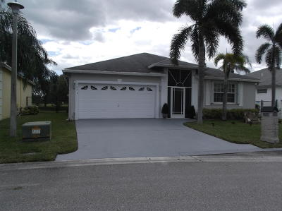 Greenacres Single Family Home For Sale: 1293 Olympic Circle