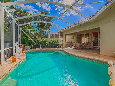 Hobe Sound Single Family Home For Sale: 7916 SE Double Tree Drive
