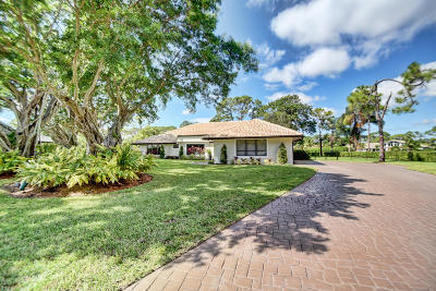 Delray Beach Single Family Home For Sale: 5200 Estates Drive