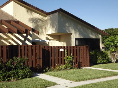 Delray Beach Single Family Home For Sale: 14061 Nesting Way #D