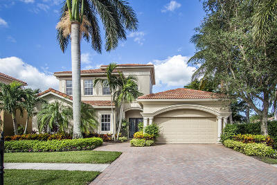 West Palm Beach Single Family Home For Sale: 7171 E Tradition Cove Lane E