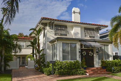 West Palm Beach Single Family Home For Sale: 215 Westminster Road