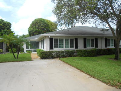Boynton Beach Single Family Home For Sale: 10143 45th Way #495
