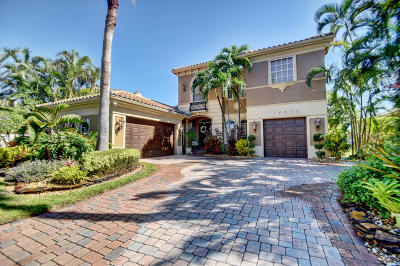 Delray Beach Single Family Home For Sale: 16275 Bristol Pointe Drive