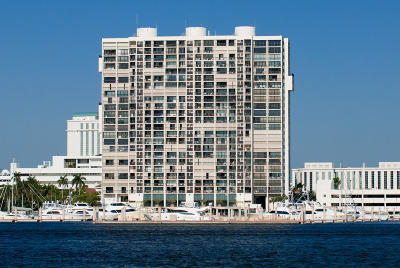 West Palm Beach Condo Sold: 400 Flagler Drive #1004