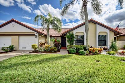 Boynton Beach Single Family Home For Sale: 8216 Waterline Drive
