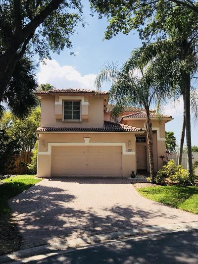 Coral Springs Single Family Home For Sale: 6261 NW 38th Drive