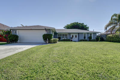 Port Saint Lucie Single Family Home Contingent: 1002 SW Sultan Drive