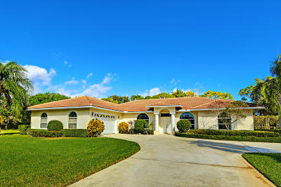 Palm Beach Gardens Single Family Home For Sale: 8170 Man-O-War Road