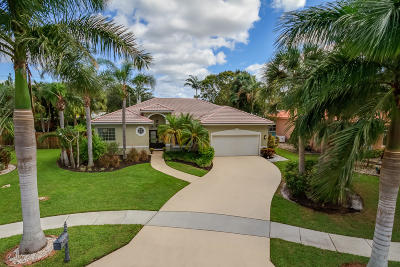 Delray Beach Single Family Home For Sale: 1365 E Barwick Ranch Circle