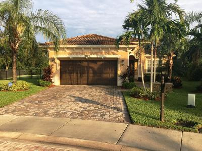 Palm Beach Gardens Single Family Home For Sale: 12177 Aviles Circle