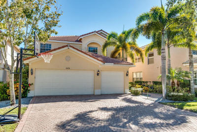 Boynton Beach Single Family Home For Sale: 11370 Millpond Greens Drive