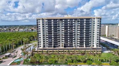 Highland Beach Condo For Sale: 3400 S Ocean Boulevard #7k