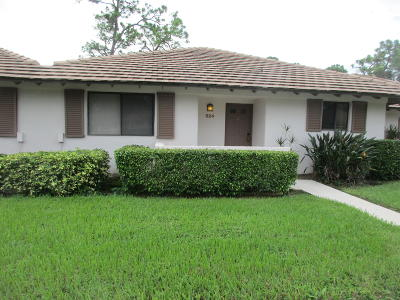 Palm Beach Gardens Single Family Home Contingent: 524 Club Drive