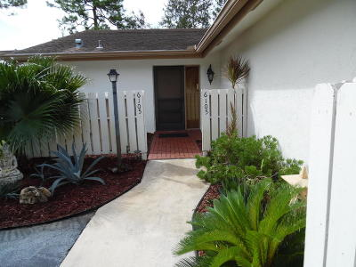 Greenacres Single Family Home For Sale: 6105 Woodlake Boulevard