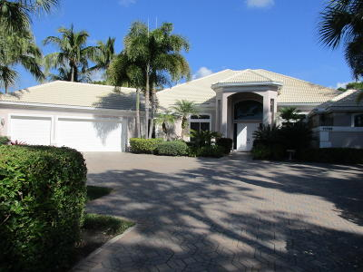 West Palm Beach Single Family Home For Sale: 11789 Blackwoods Lane