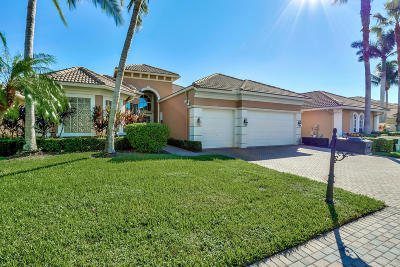 West Palm Beach Single Family Home For Sale: 7500 Monte Verde Lane