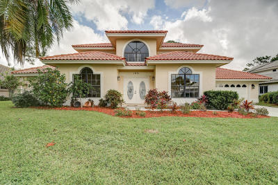 Port Saint Lucie Single Family Home Contingent: 1071 SW Mockingbird Drive