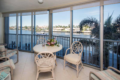 Highland Beach Condo For Sale: 3310 S Ocean Boulevard #327-D