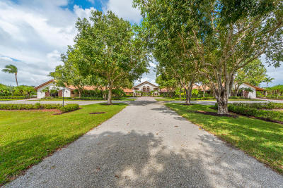Palm Beach County Single Family Home For Sale: 13560 Indian Mound Road