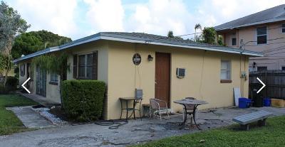 Delray Beach Multi Family Home For Sale: 614 NE 4th Street