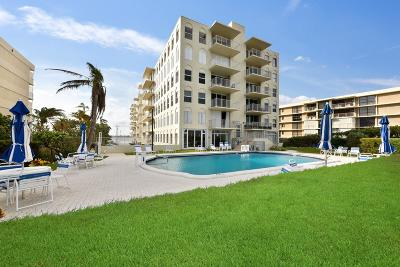 Palm Beach Condo For Sale: 3230 S Ocean Boulevard #D509