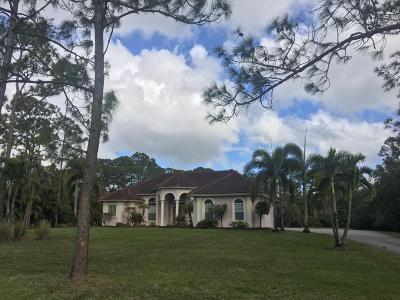 Jupiter Single Family Home For Sale: 16802 130th Avenue