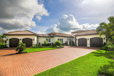 West Palm Beach Single Family Home For Sale: 7750 Arbor Crest Way
