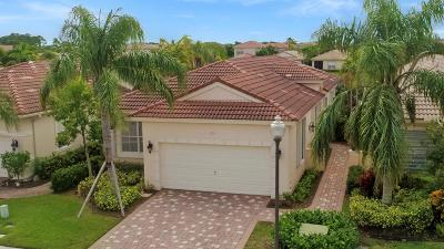 Palm Beach Gardens Single Family Home Contingent: 214 Isle Verde Way