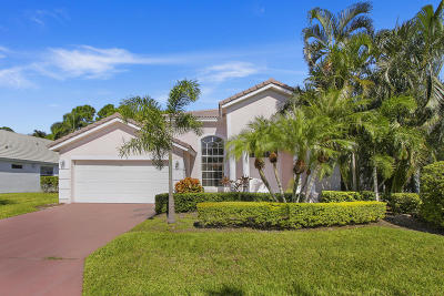 Palm Beach Gardens Single Family Home For Sale: 117 Bent Tree Drive