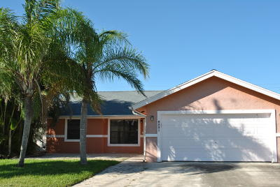Jupiter Single Family Home For Sale: 6231 Robinson Street