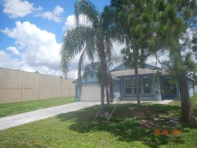 Jupiter Single Family Home For Sale: 6351 Adams Street