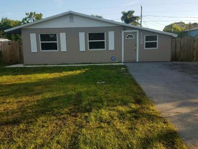 Jupiter Single Family Home For Sale: 1104 Neoga Street