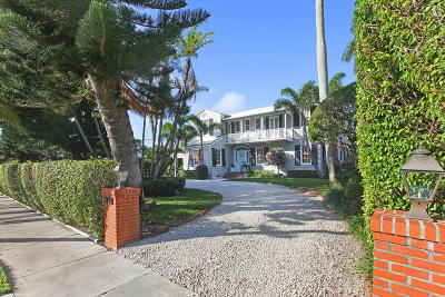 Palm Beach Single Family Home For Sale: 267 Dunbar Road