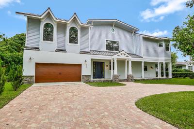 Boynton Beach Single Family Home For Sale: 600 Chapel Hill Boulevard