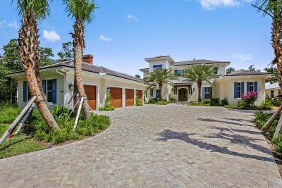 Jupiter Single Family Home For Sale: 19163 SE Jupiter River Drive
