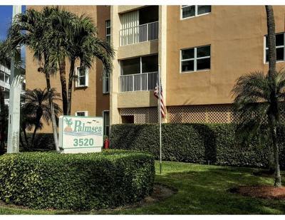 Palm Beach Condo For Sale: 3520 S Ocean Boulevard #A206