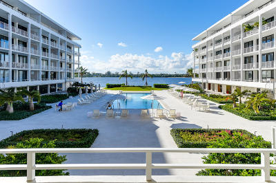 Palm Beach Condo For Sale: 2784 S Ocean Boulevard #102e