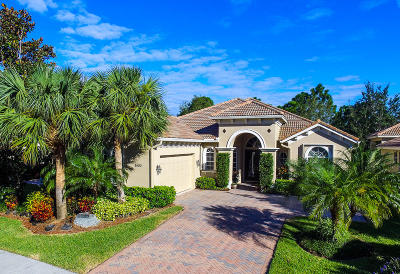 Port Saint Lucie Single Family Home For Sale: 9400 Briarcliff Trace