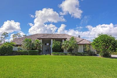 Palm City Single Family Home Contingent: 10496 SW Whooping Crane Way