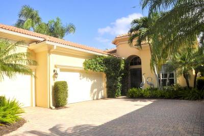 West Palm Beach Single Family Home For Sale: 7968 Via Villagio