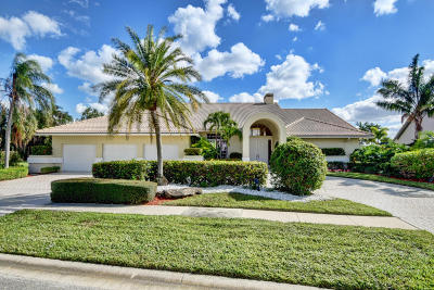 Boca Raton Single Family Home For Sale: 4460 Bocaire Boulevard