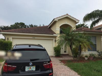 Greenacres Single Family Home Contingent: 5068 Nautica Lake Circle