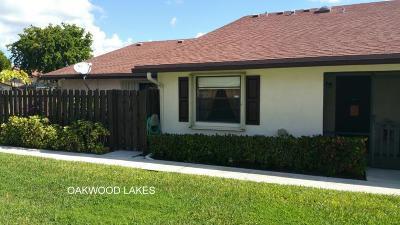 boynton beach Single Family Home For Sale: 3796 Silver Lace Lane #98