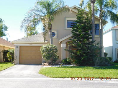 Boynton Beach Single Family Home For Sale: 5891 Northpointe Lane