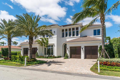 Boca Raton Single Family Home For Sale: 1229 Thatch Palm Drive