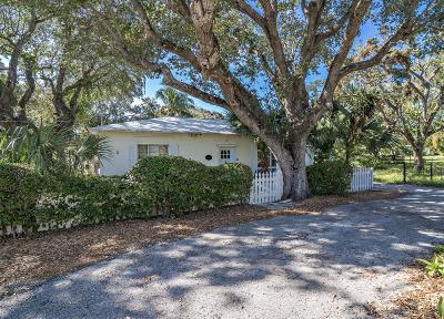 North Palm Beach Single Family Home For Sale: 11241 Ellison Wilson Road